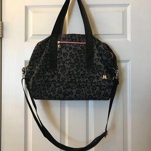 Harajuku Lovers by Gwen Stefani Leopard Duffel Bag